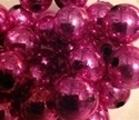 Picture of BD14RM4C  14mm METALLIC HOT PINK round plastic beads