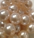 Picture of BD14R1  14mm PEARL opaque round plastic beads
