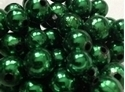 Picture of BD12RM9  12mm METALLIC GREEN round plastic beads