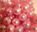 Picture of BD12R4A  12mm light pink opaque round plastic beads