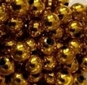 Picture of BD10RM3B 10mm METALLIC DARK GOLD round plastic beads