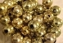Picture of BD12RM3  12mm METALLIC GOLD round plastic beads