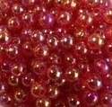 Picture of BD6RR4  6mm RAINBOW PINK round plastic beads