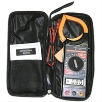 clamp meter-multimeter-digital meter with case