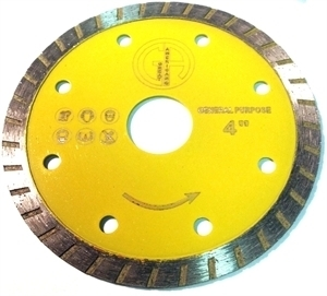 Picture of DB3757A 4IN Turbo saw blade for Granite