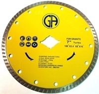Picture of DB3767  7IN Turbo Saw Blade for Granite