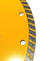 Picture of DB3769  9IN Sintered Turbo Saw Blade for Granite, 7/8- 5/8' arbor