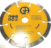 Picture of DB3781  4.5IN Segmented for Granite, 5/8'  arbor