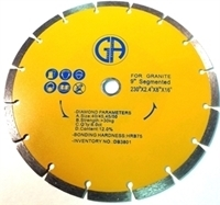Picture of DB3801  9IN Segmented Saw Blade for Granite