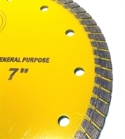Picture of DB3767HP 7IN Hot-Pressed Turbo Saw Blade for General Purpose