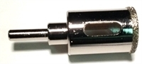 Picture of HT406  1-in. or 25mm Diamond core drill bit for glass, ceramic, or tile.