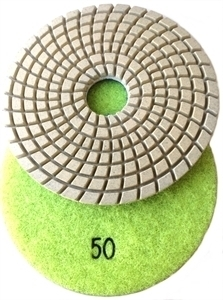 Picture of DPP1  4IN Diamond Polishing Pad WET - 50 GRIT