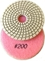 Picture of DPP3  4IN Diamond Polishing Pad WET - 200 GRIT