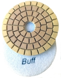 Picture of DPP8  4IN Diamond Polishing Pad WET - 8000 GRIT