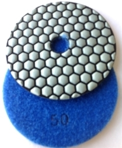 Picture of DPP9  4IN Diamond Polishing Pad DRY - 50 GRIT