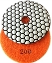 Picture of DPP11  4IN Diamond Polishing Pad DRY - 200 GRIT