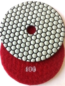 Picture of DPP12  4IN Diamond Polishing Pad DRY - 400 GRIT