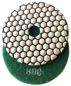 Picture of DPP13  4IN Diamond Polishing Pad DRY - 800 GRIT