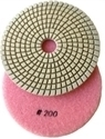 Picture of DPP128  5IN Diamond Polishing Pad WET - 200 GRIT