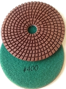 Picture of DPP129  5IN Diamond Polishing Pad WET - 400 GRIT