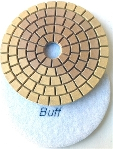 Picture of DPP133  5IN Diamond Polishing Pad WET - 8000 GRIT
