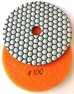 Picture of DPP26   5IN Diamond Polishing Pad 100 GRIT, DRY