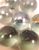 Picture of M25 25MM clear glass marbles