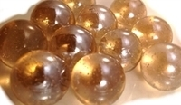 Picture of M08 16MM Light Peach Metallic Marbles