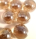Picture of M04 16MM Peach Shiny Glass Marbles