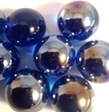 Picture of M05 16MM Shiny Cobalt Blue Marbles