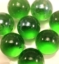 Picture of M10 16MM Light Green Shiny Marbles