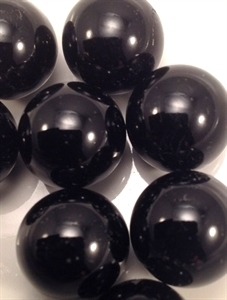 Picture of M157 16MM Shiny Black Marbles