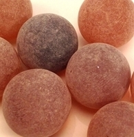 Picture of M164 16MM Frosted coffee marbles