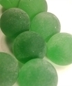 Picture of M174 16MM Frosted green marbles