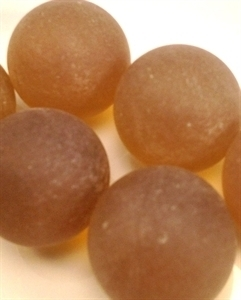 Picture of M238 25MM coffee frosted glass marbles