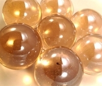 Picture of M255  1-in. Pink Shiny Glass Marbles.