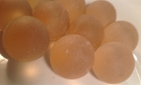 Picture of M256 25MM champaign frosted glass marbles