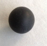 Picture of M177 11MM Frosted Black Marble