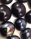 Picture of N01 14MM Black Opal Shiny Glass Gems