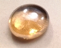Picture of N17 14MM Peach Shiny glass gems