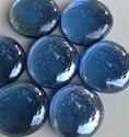 Picture of N66 30MM  Blue Shiny Glass Gems