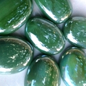 Picture of N70A 30MM Green Opal Glass Gems
