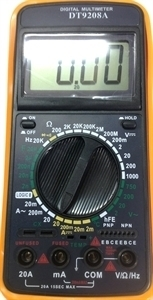 Picture of DT9208A  Digital Multimeter