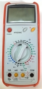 Picture of HY8200C  Digital Multimeter Temperature probe