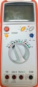 Picture of HY8205F  Digital Multimeter  Frequency