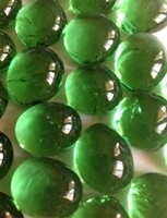 Picture of N06 14MM Light green cathedral glass gem