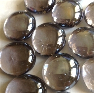 Picture of N08 14MM Light Purple Cathedral Glass Gems