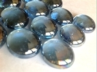 Picture of N12 14MM Light Blue Cathedral Shiny Glass Gems