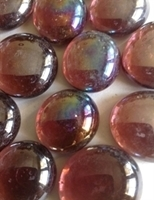 Picture of N13  14MM Grape Cathedral Shiny Glass Gems