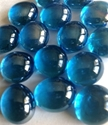 Picture of N44 10MM Cathedral Blue Shiny Glass Gems